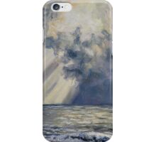 Sky and Sea French Beach iPhone Case/Skin
