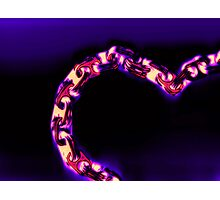 Love Glows Strong Photographic Print