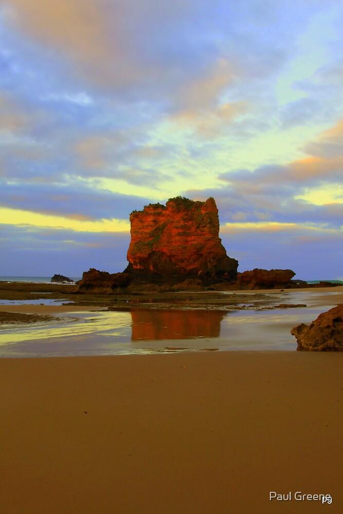 Eagle Rock - The Great Ocean Road, Australia by Paul Greene
