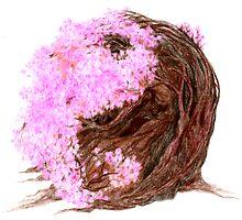 Sakura Yin Yang by Rebecca Tripp