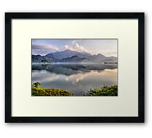 Lake and Mountains II Framed Print