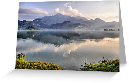 Lake and Mountains II by Daidalos