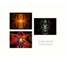 Apophysis Flame Pack Front Page Art Print