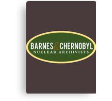 Barnes & Chernobyl - Nuclear Archivists Canvas Print