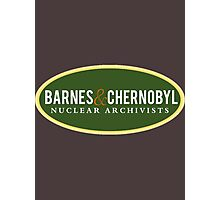 Barnes & Chernobyl - Nuclear Archivists Photographic Print