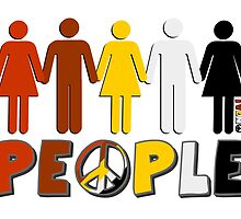 People 4 WORLD PEACE by iveno