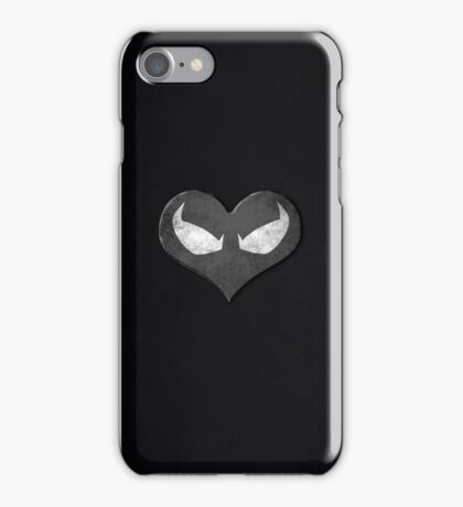 MJ Blacksuit Spidey Heart Case iPhone Case/Skin