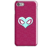 Gwen Spidey Heart Case iPhone Case/Skin