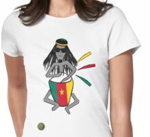 Rasta in Cameroon Womens Fitted T-Shirt