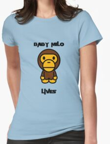 Baby Milo Lives Womens Fitted T-Shirt