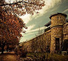 Beechworth Gaol by Kellie Metcalf