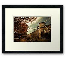 Beechworth Gaol Framed Print