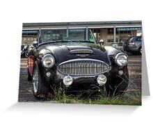 Austin Healey 3000 MkII Greeting Card