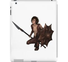 Dragon Warrior Boy - Crouching iPad Case/Skin