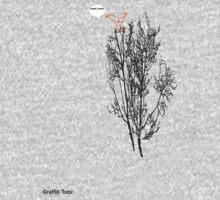 Graffiti bird in a tree Baby Tee