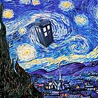 Starry Night Inspiration Doctor Who Tardis Products by Angelinas