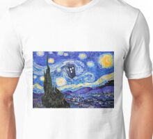 Starry Night Inspiration Doctor Who Tardis Products Unisex T-Shirt
