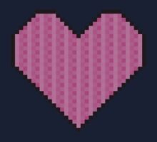 Pixelated Heart Kids Clothes