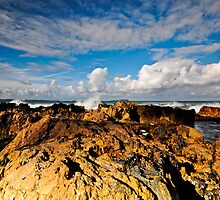 Rocks, Sea and Sky by bazcelt