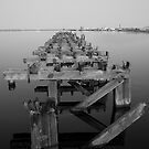Old Pier by Julie McBrien