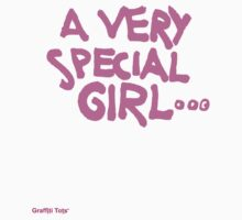 A Very Special Girl Kids Tee