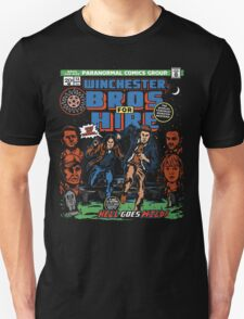 Winchester Bros For Hire T-Shirt
