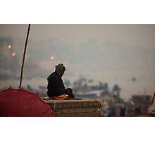 Varanasi Meditation Photographic Print