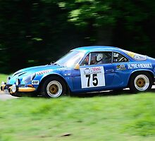 Alpine Renault A110 by Willie Jackson