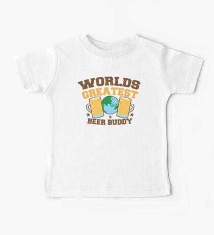 WORLDS GREATEST beer buddy Baby Tee