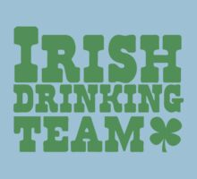 Irish drinking team Kids Tee