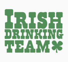 Irish drinking team Baby Tee