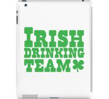 Irish drinking team iPad Case/Skin