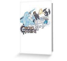 ChronoThrone Greeting Card