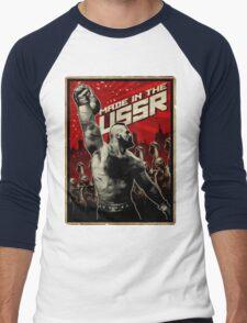 Kettlebell - Made in the USSR  Men's Baseball ¾ T-Shirt