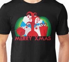Merry Xmas cheery tree and presents Unisex T-Shirt