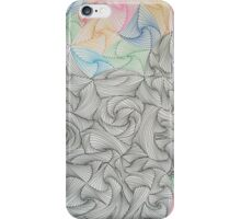 Abstract Hand Drawn Paradox Pattern iPhone Case/Skin