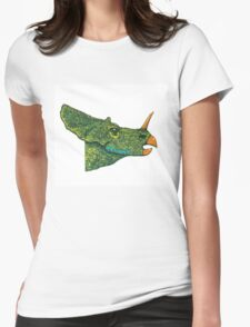 Watchful Womens Fitted T-Shirt