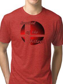 Survival of the Fittest (Smash) Tri-blend T-Shirt