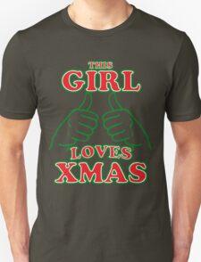 This Girl Loves Xmas Unisex T-Shirt