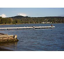 Warners Bay Jetty Photographic Print
