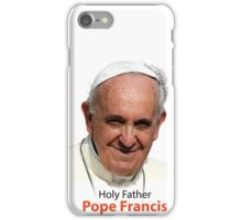 Pope Francis Headshot 1 iPhone Case/Skin