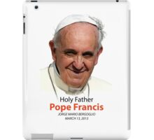 Pope Francis Headshot 1 iPad Case/Skin