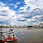 London Eye by Ashok Mani