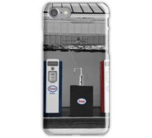 Old fashion Gas Station iPhone Case/Skin