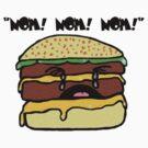 Scaredy Burger by brainsherbet