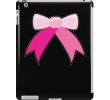 BOW ribbon ribbons iPad Case/Skin