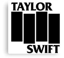 Taylor Swift Is Punk As F**K Canvas Print