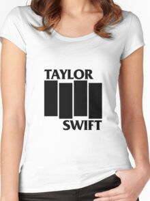 Taylor Swift Is Punk As F**K Women's Fitted Scoop T-Shirt