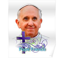 Pope Francis Headshot 3 Poster