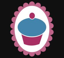 Cute little cupcake on a Cameo Kids Tee